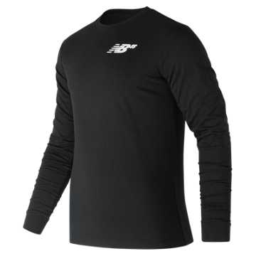 New Balance NB Numeric Long Sleeve, Black