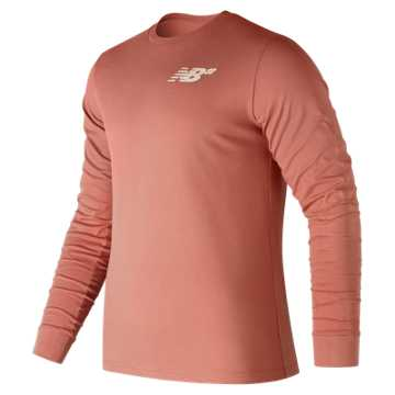 New Balance NB Numeric Long Sleeve, Dusted Peach