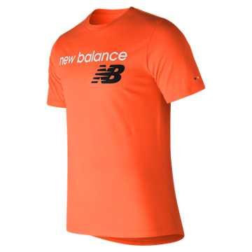 New Balance NB Athletics Tee, Orange