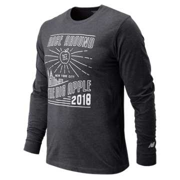 New Balance United NYC Half Race Big Apple Long Sleeve, Navy