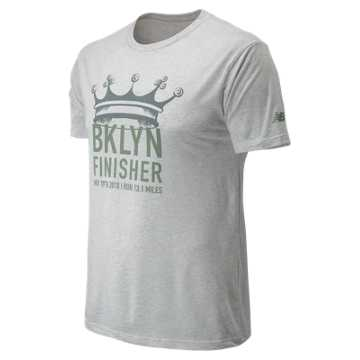New Balance Brooklyn Half Brooklyn Finish Tee, White