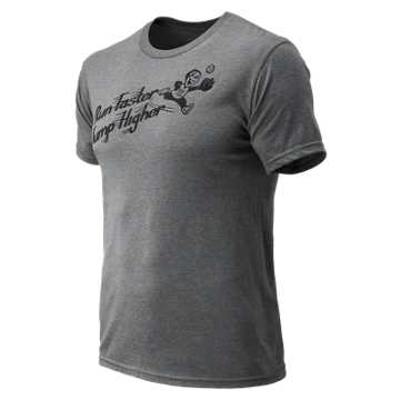 New Balance Baseball Sandlot Tee, Athletic Grey