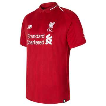 New Balance 利物浦系列  男款 利物浦主场球迷版短袖比赛服, RDP