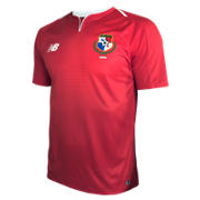 New Balance Panama Home Short Sleeve Jersey, Red