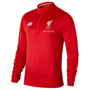 New Balance LFC Elite Training Hybrid Sweatshirt, Racing Red