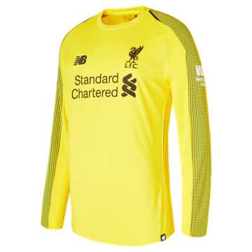 New Balance LFC Home GK Long Sleeve Jersey, Viper Yellow