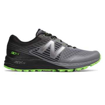 New Balance New Balance 910v4 Trail, Gunmetal with Energy Lime