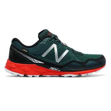 New Balance 910v3 Trail Gore Tex®, Dark Green with Red & Black