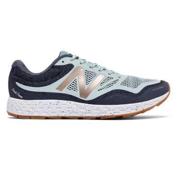 New Balance Fresh Foam Gobi Trail 男子跑步鞋 缓震支撑 稳定保护, 灰蓝色/黑色