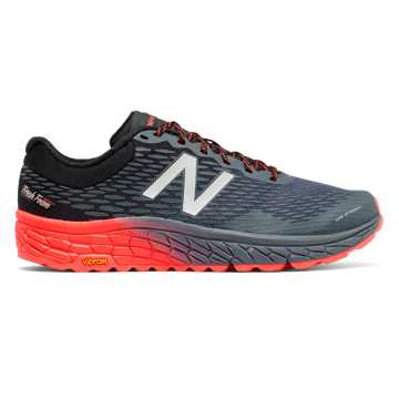 New Balance Fresh Foam Hierro v2, Outer Space with Black & Alpha Orange