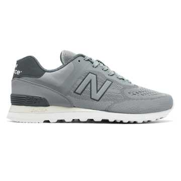New Balance 574 Re-Engineered, Silver Mink with Gunmetal