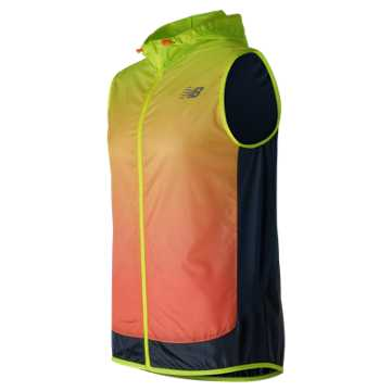 New Balance Fun Run Vest, Hi-Lite with Supercell & Sunrise