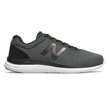New Balance 男款 Versi系列 轻量舒适 柔软贴合, 深灰色
