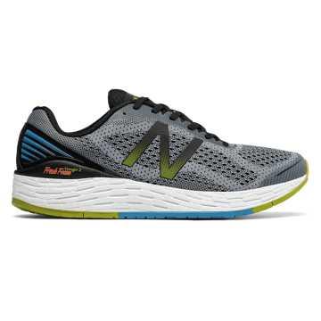 New Balance Fresh Foam vongo系列跑步鞋 男款 轻量缓震 舒适稳定, 灰色/黑色