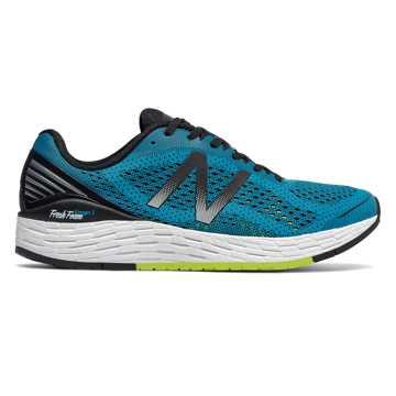 New Balance Fresh Foam vongo系列跑步鞋 男款 轻量缓震 舒适稳定, 湖蓝色