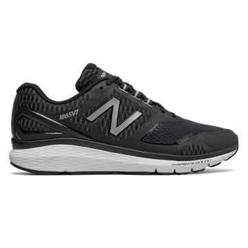New Balance 1865, Black with Silver