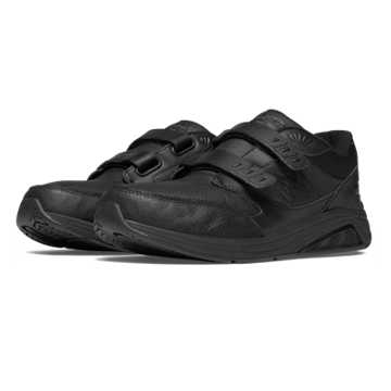 New Balance Hook and Loop Leather 928v2, Black