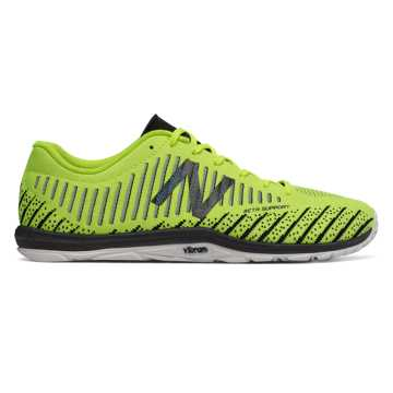 New Balance Minimus 20v7 Trainer, Energy Lime with Black \u0026 Bolt
