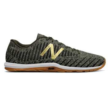 New Balance Minimus 20v7 Trainer, Military Foliage Green with Dark Green