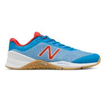 New Balance Minimus 40 Trainer, Barracuda with Red