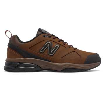 New Balance New Balance 623v3 Trainer Leather, Brown with Brown