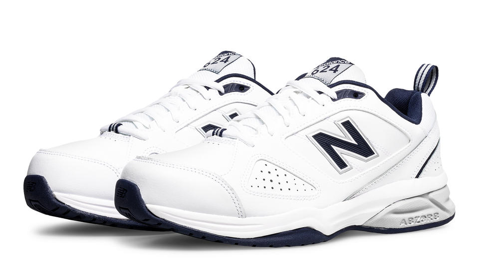 new balance men's trainers 624