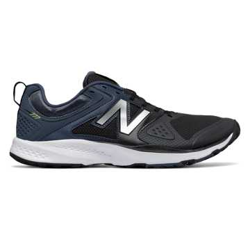 New Balance New Balance 777v2 Trainer, Black with Grey