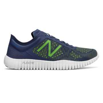 New Balance 男运动鞋, 灰色/荧光黄
