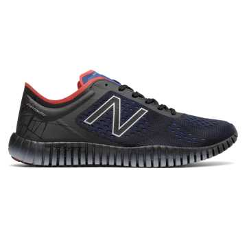 New Balance 99v2 Marvel, Black with Team Royal & Red