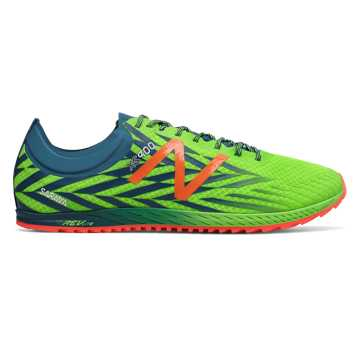 New Balance XC900v4 Spikeless, Energy Lime with Moroccan Blue