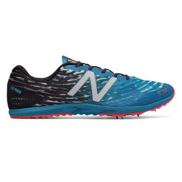 New Balance XC900v3 Spike, Black with Blue