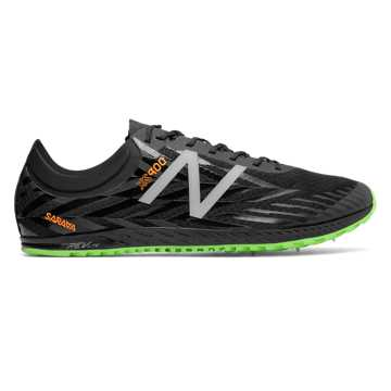 New Balance XC900v4 Spike, Black with Dynamite