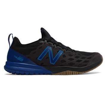 New Balance FuelCore Quick v3 Trainer, Black with Royal Blue