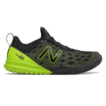 New Balance FuelCore Quick v3 Trainer, Black with Hi-Lite