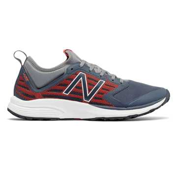 New Balance Vazee Quick v2 Trainer, Thunder with Alpha Orange & Gunmetal