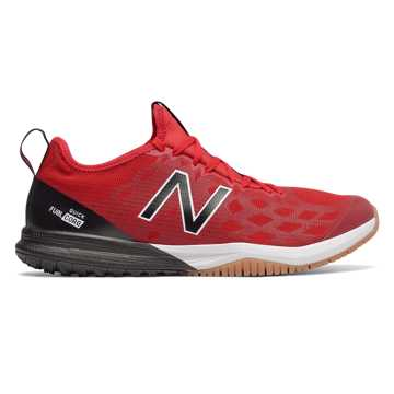 New Balance FuelCore Quick v3 Trainer, Team Red with Team Away Grey