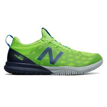 New Balance FuelCore Quick v3 Trainer, Energy Lime with Vintage Indigo & Light Cyclone