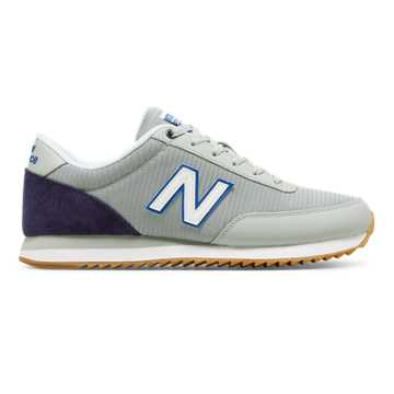 New Balance 501 Ripple Sole, Silver Mink with Dark Denim