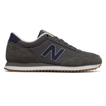 New Balance 501 Ripple Sole, Castlerock with Steel
