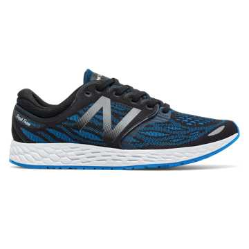 New Balance Fresh Foam Zante v3, Black with Electric Blue