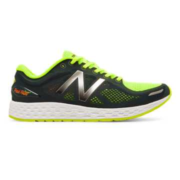 New Balance Fresh Foam Zante v2, Black with Lime Green