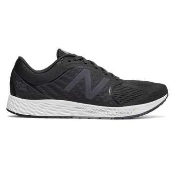 New Balance Fresh Foam跑步鞋 男款 轻量缓震 舒适回弹, 黑色
