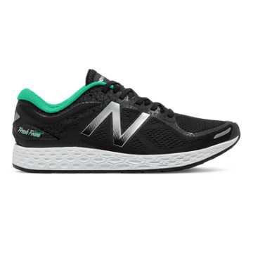 New Balance Zante v2 Bronx, Black with Metallic Silver & Deep Jade