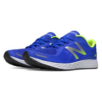 New Balance Fresh Foam Zante v2, Blue with Lime Green