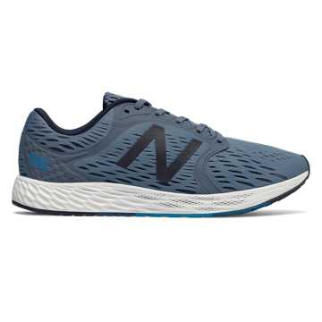 New Balance Fresh Foam Zante v4, Deep Porcelain Blue with Pigment & White