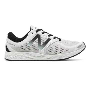 New Balance Fresh Foam Zante v3 Breathe, White with Black