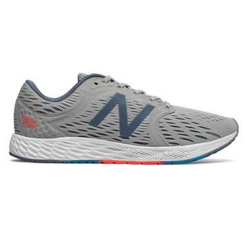 New Balance Fresh Foam跑步鞋 男款 轻量缓震 舒适回弹, 动感灰