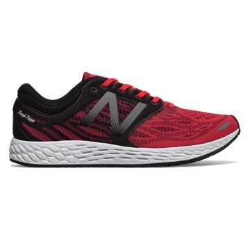 New Balance Fresh Foam Zante v3, Energy Red with Black & White