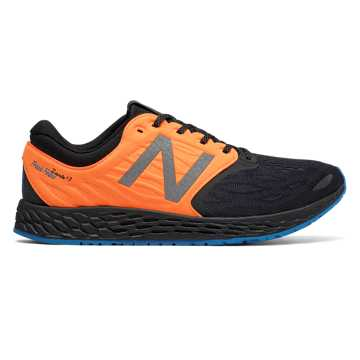 New Balance Fresh Foam Zante v3 Staten Island, Black with Electric Blue