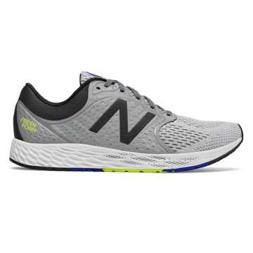 New Balance Fresh Foam Zante v4, Gunmetal with Black & Hi-Lite